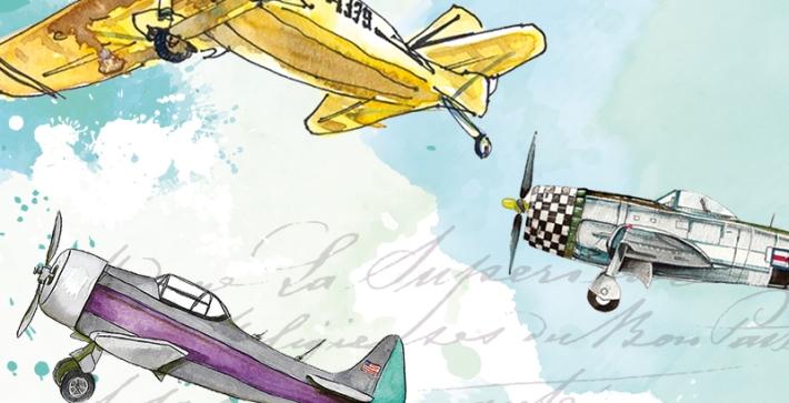 airplane voyage details